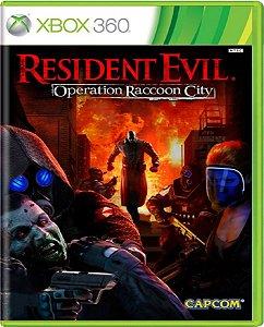 Jogo Resident Evil Operation Raccon City - Xbox 360 Usado