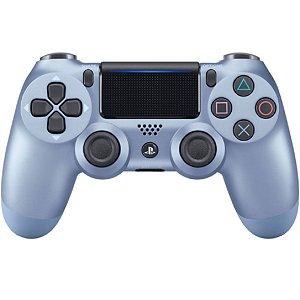 Controle Joystick Sony Dualshock 4 Titanium Blue Usado
