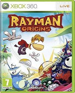 Jogo Rayman Origins - Xbox 360 Mídia Física Usado