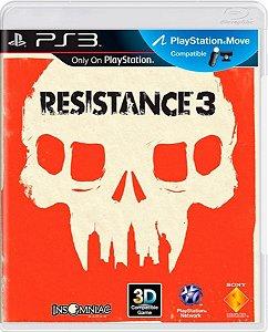 Jogo Resistance 3 - Ps3 Mídia Física Usado
