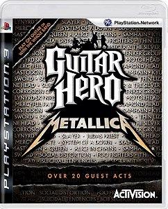 Jogo Guitar Hero Metallica - Ps3 Midia Física Usado