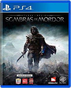 Jogo Terra Média Sombras de Mordor  - Ps4 Mídia Física Usado