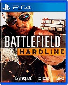 Jogo Battlefield Hardline - Ps4 Mídia Física Usado