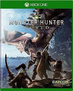 Jogo Monster Hunter World - Xbox One Mídia Física Usado
