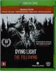 Jogo Dying Light The Following - Xbox One Mídia Física Usado