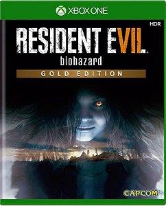 Jogo Resident Evil 7 Gold Edition - Xbox One Mídia Física Usado