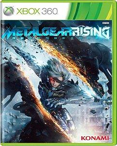 Jogo Metal Gear Rising - Xbox 360 Mídia  Física Usado