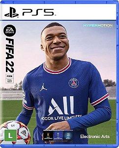 Jogo Fifa 22 - PS5 Mídia Física (Pré-Venda)