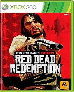 Jogo Red Dead Redemption - Xbox 360 Mídia Física Usado