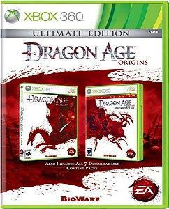 Jogo Dragon Age Origins Ultimate Edition - Xbox 360 Usado