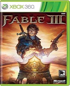 Jogo Fable 3 - Xbox 360 Mídia Física Usado