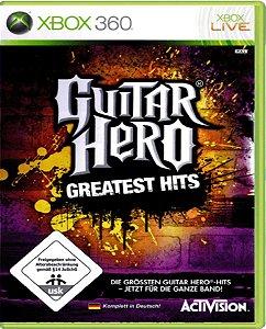 Jogo Guitar Hero G. Hits - Xbox 360 Física Usado (EUROPEU)