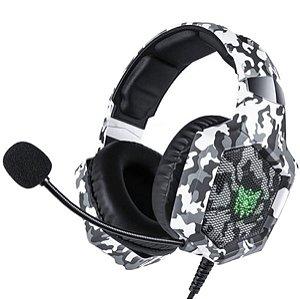 Headset Onikuma Gamer KB Preto e Cinza Ps4/Xbox One