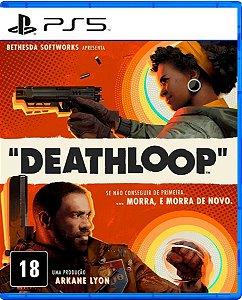 Jogo Deathloop - PS5 Mídia Física