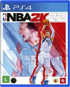 Jogo NBA 2K22 - PS4 Mídia Física