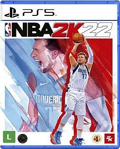 Jogo NBA 2K22 - PS5 Mídia Física