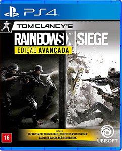 Jogo Rainbow Six Siege Edição Avançada - Ps4 M. Física Usado