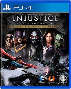 Jogo Injustice God Among Us Ult. Edition - PS4 Física Usado