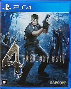 Jogo Resident Evil 4 - Ps4 Mídia Física Usado