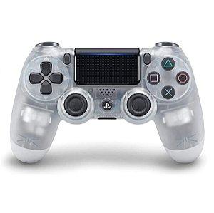 Controle Joystick Sony Dualshock 4 Cristal Usado