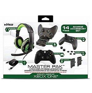Xbox One S Nyko Master Pack 14 peças