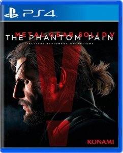 Jogo Metal Gear Solid V The Phantom Pain - Ps4 Mídia Física Usado