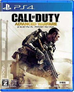 Jogo Call of Duty Advanced Warfare (Japones) - Ps4 Mídia Física Usado