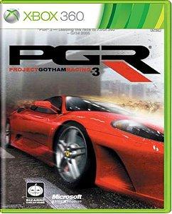 Jogo Project Gotham Racing 3 - Xbox 360 Mídia Física Usado