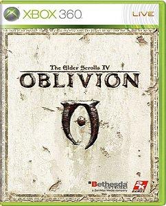 Jogo The Elders Scrolls IV Oblivion - Xbox 360 Física Usado