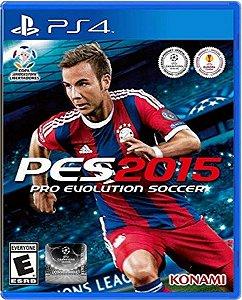 Jogo Pro Evolution Soccer 2015 - Ps4 Mídia Física Usado