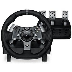 Volante Logitech G920 Xbox One/ PC + Cockpit Suporte Usado