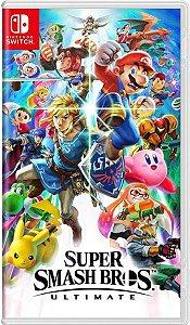 Jogo Super Smash Bros U. - SEM CAPA Nintendo Switch  Usado