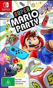Jogo Super Mario Party - SEM CAPA Nintendo Switch Usado