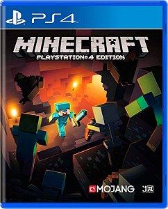 Jogo Minecraft - Ps4 Mídia Física Usado