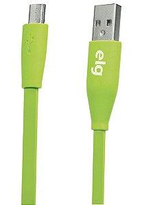 Cabo Elg Micro USB L510VD Flat