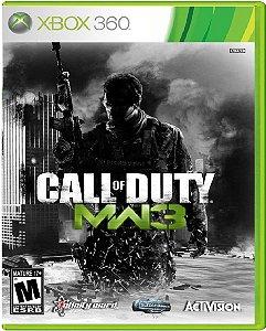 Jogo Call of Duty Modern Warfare 3 - Xbox 360 Mídia Usado