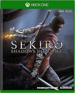Jogo Sekiro Shadow Die Twice - Xbox One Mídia Física Usado