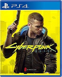 Jogo Cyberpunk 2077 - PS4 Mídia Física