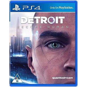 Jogo Detroit Become Human - Ps4 Mídia Física Usado