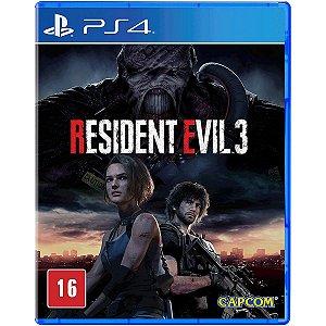 Jogo Resident Evil 3 Remake - Ps4 Mídia Física Usado