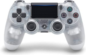 Controle Original Sony Crystal Transparente  - Ps4 Usado