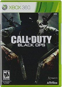 Jogo Call of Duty Black Ops - Xbox 360 Mídia Física Usado