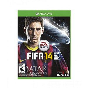Jogo Fifa 14 - Xbox One Mídia Física Usado