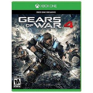 Jogo Gears of War 4 - Xbox One Mídia Física Usado