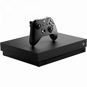Microsoft Xbox One X 1TB Standard Preto Seminovo