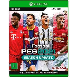 Jogo Pro Evolution Soccer 2021 - Xbox One Mídia Física