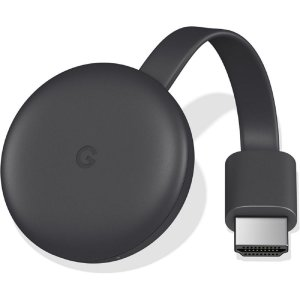 Google Chromecast Media Player Streaming 3ª Geração