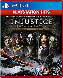 Injustice God Among Us Ult. Edition Playstation Hits - PS4