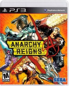 Jogo Anarchy Reigns - Ps3 Mídia Física Usado