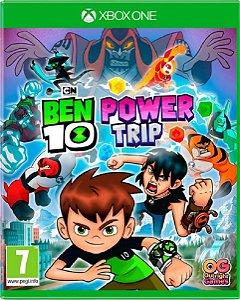 Jogo Ben 10 Uma Super Aventura - Xbox One Midia Fisica